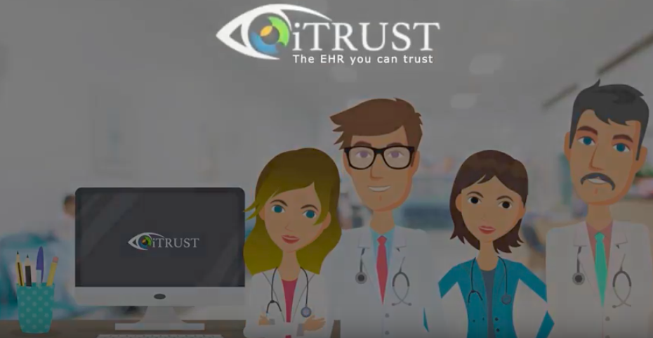 itrust.io optometry ehr 1